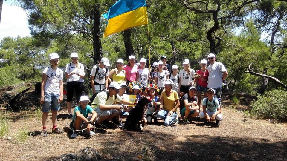 Під час табору для дітей української діаспори в Туреччині