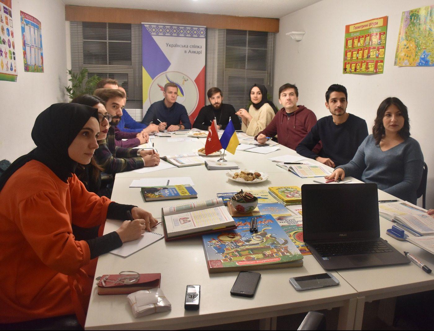 Ankara Ukrayna Derneğinden Ukraynaca öğrenimine büyük katkı